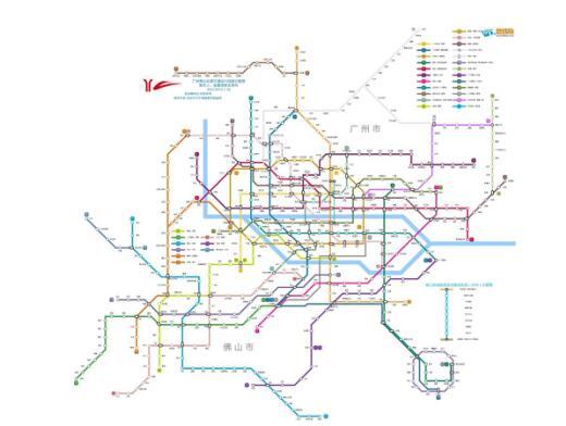 2年规划的未来广佛地铁线路图)-三号线都动工了 五号线还会远吗图片