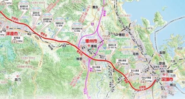 惠州地铁 高铁 城际汇总,最新交通规划统统都在这