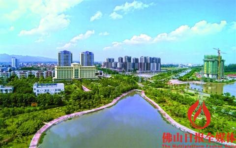三水大塘建设美妆小镇 推动城市升值图片